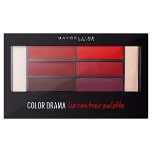 Paleta de Labios Color Drama Maybelline