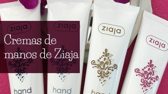 cremas de manos Ziaja
