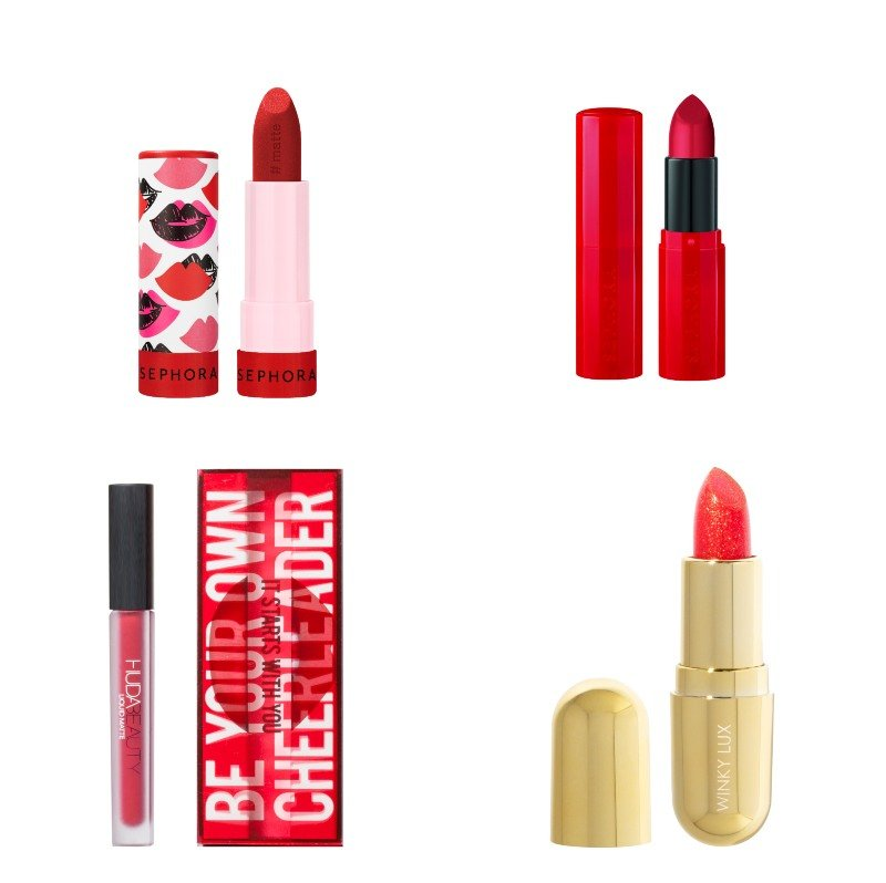 Limited Red Lip Collection