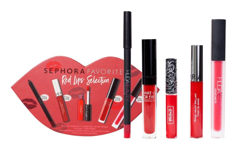 Sephora Favorites Red Lips Selection