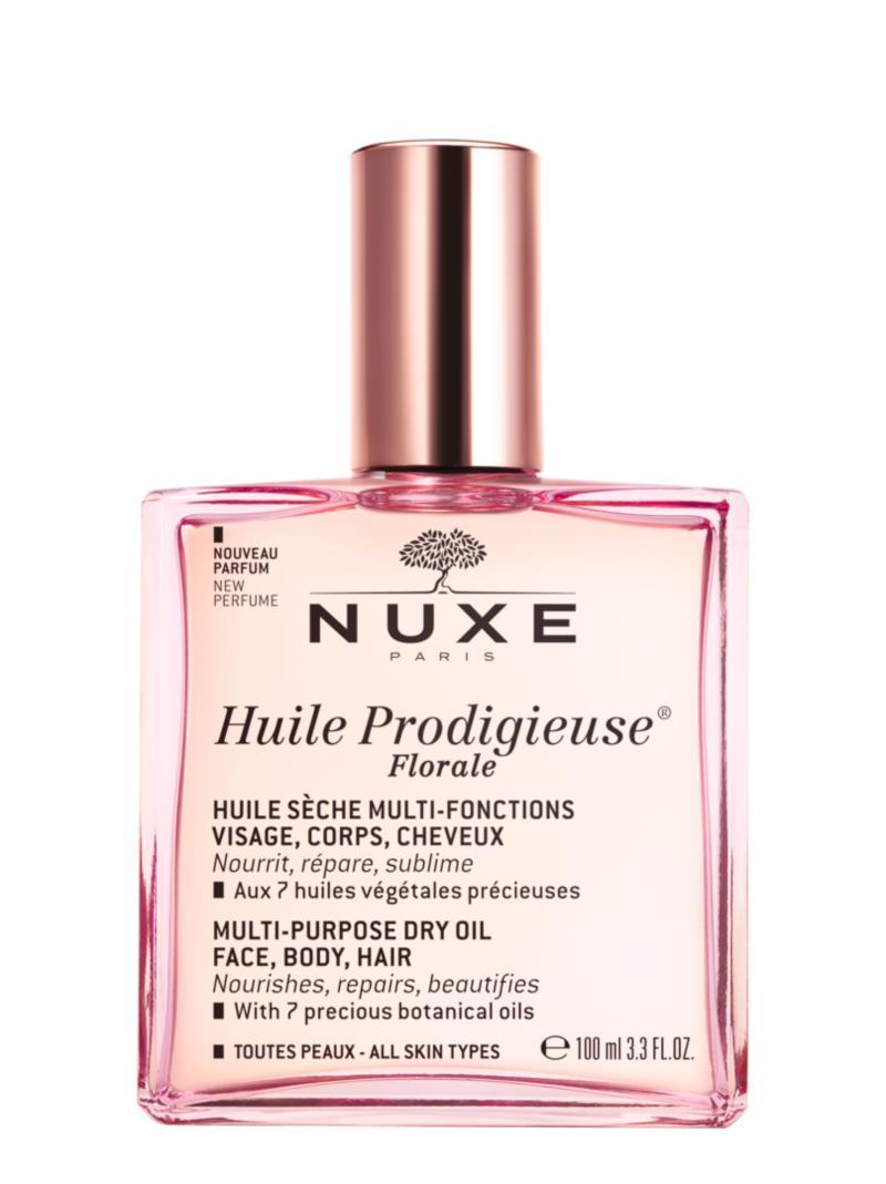 nueva Huile Prodigieuse de Nuxe con aroma floral