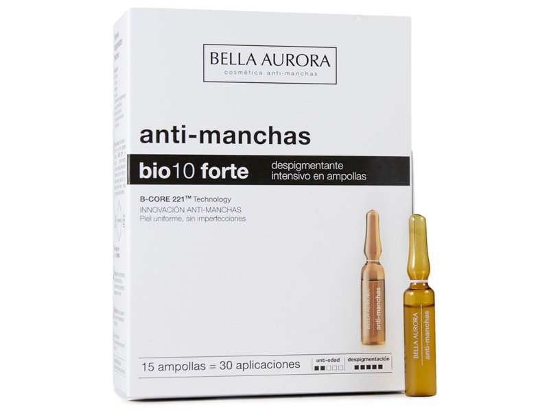 ampollas antimanchas