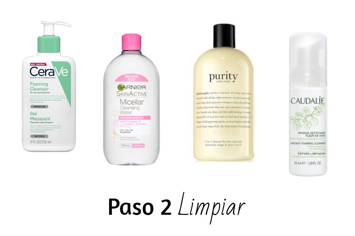productos para limpiar la piel