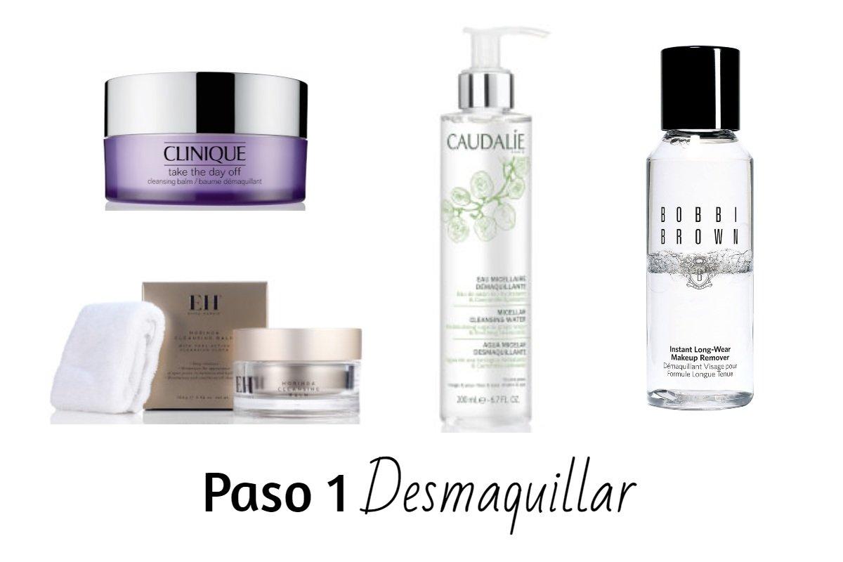 productos para desmaquillar la piel