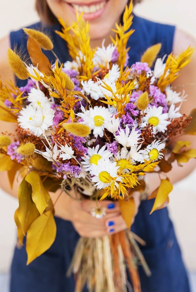 flores secas de Colvin