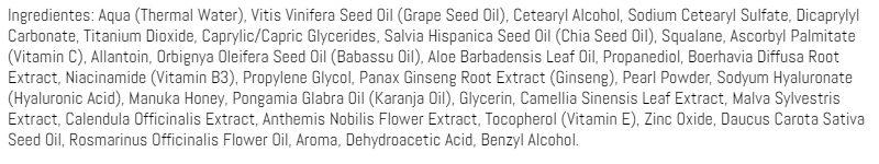 ingredientes hidratante powerful C