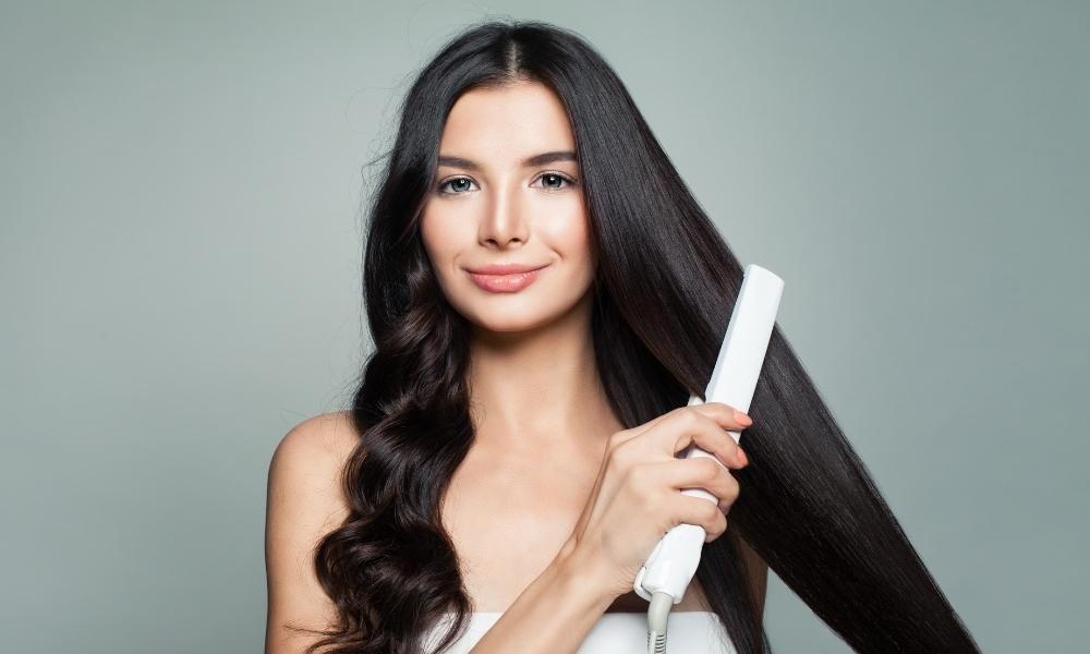 plancha para el cabello profesional