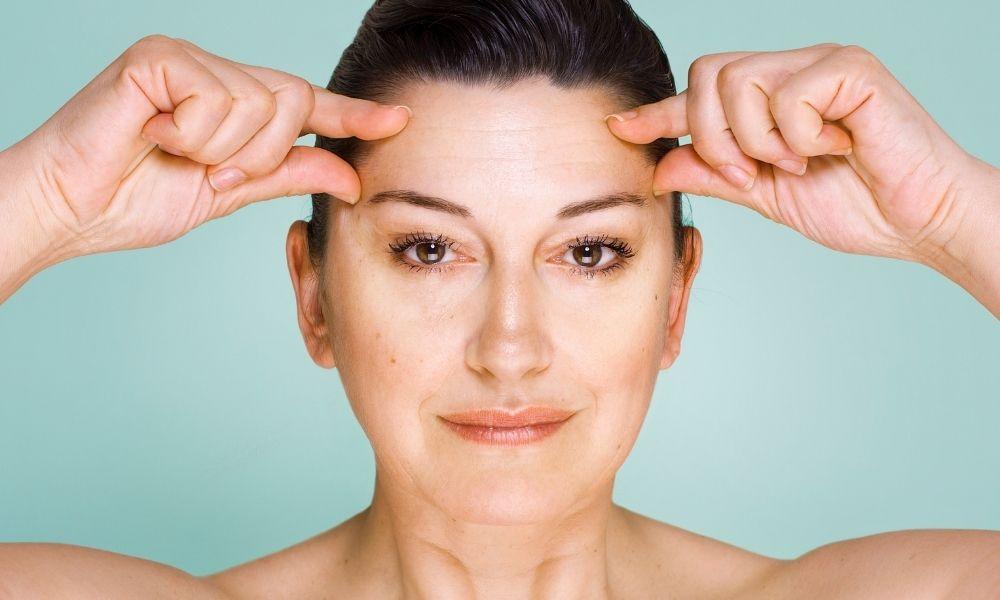 Consejos para eliminar las arrugas de la frente
